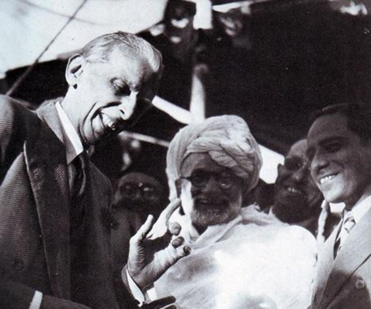 Quaid-i-Azam Muhammad Ali Jinnah: uninhibited laughter