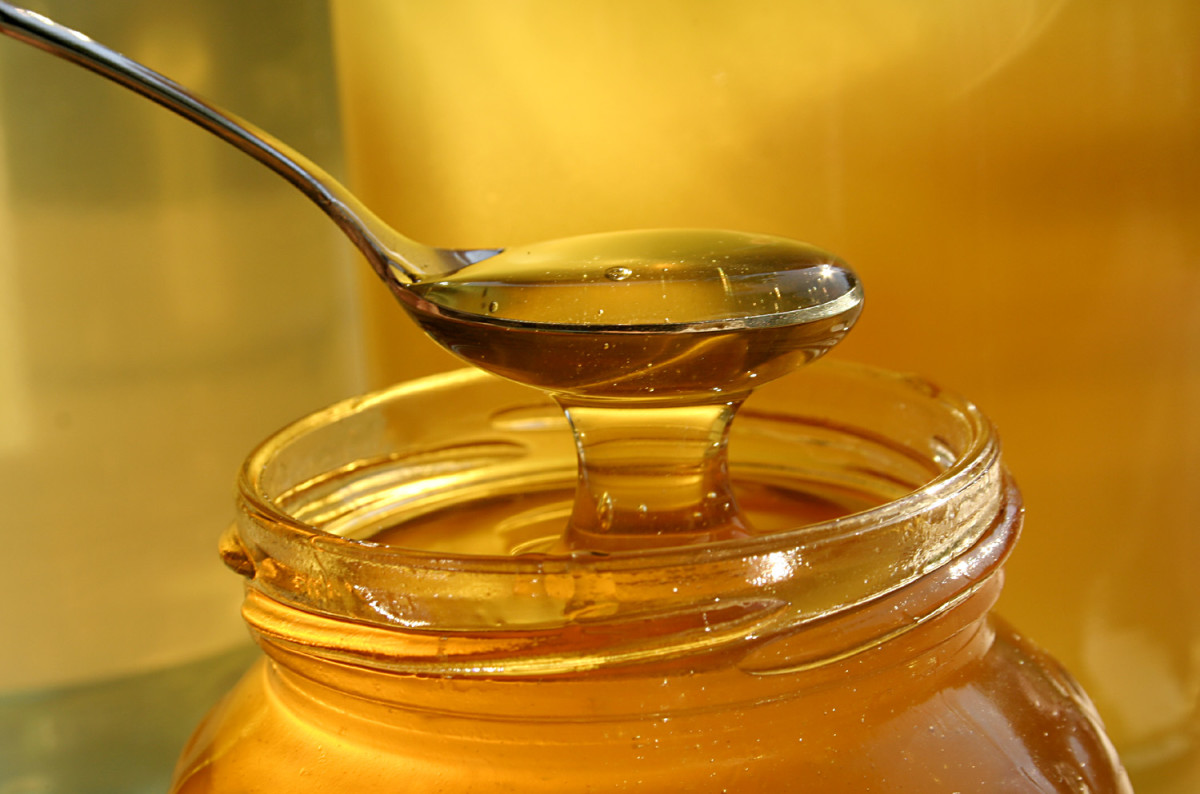 Honey is great for mature skin.