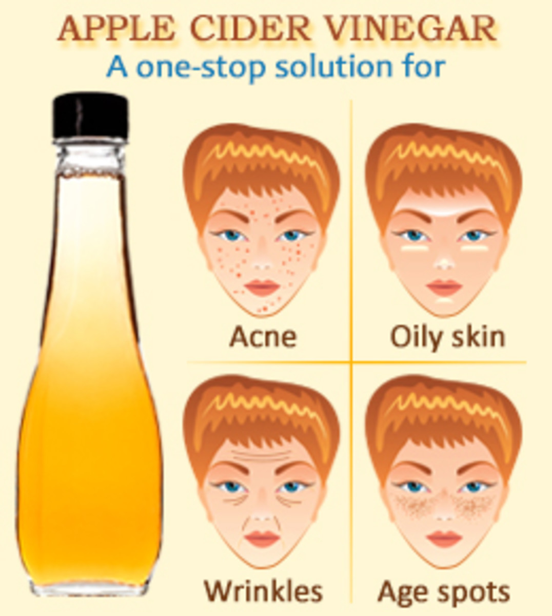 Apple cider vinegar is a very versatile ingredient to use in DIY skin care.
