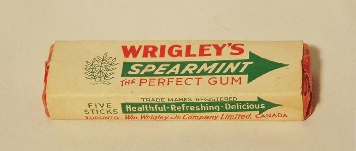 Wrigley's Spearmint Gum (1940s)