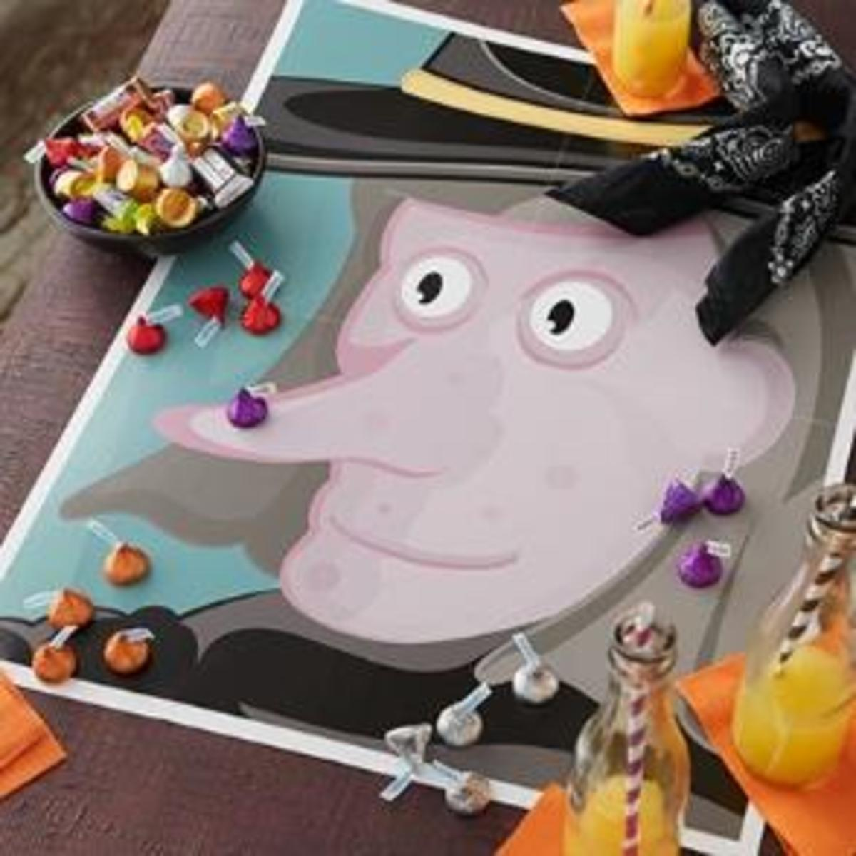 Play Pin The Wart On The Witch This Halloween