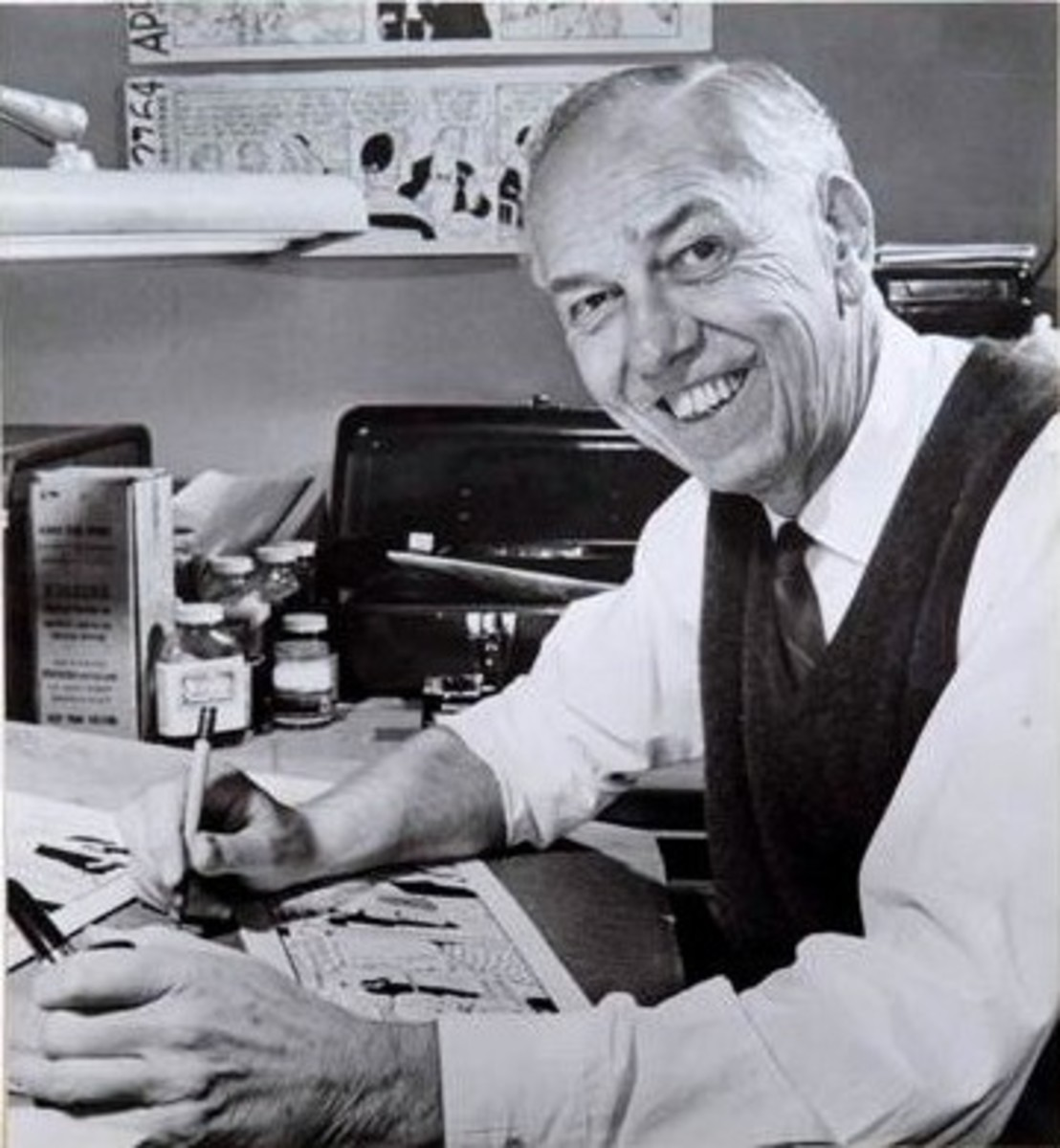Former Disney animator Dick Moores was one of the heads of Telecomics Inc.
