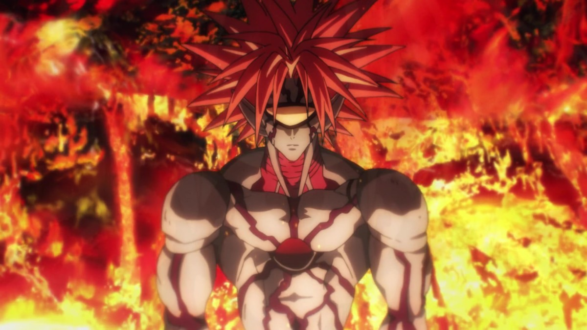 Boros in One Punch Man Episode 12.