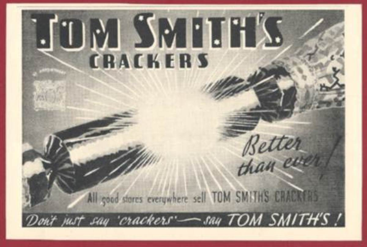 Tom Smith Cracker Advert