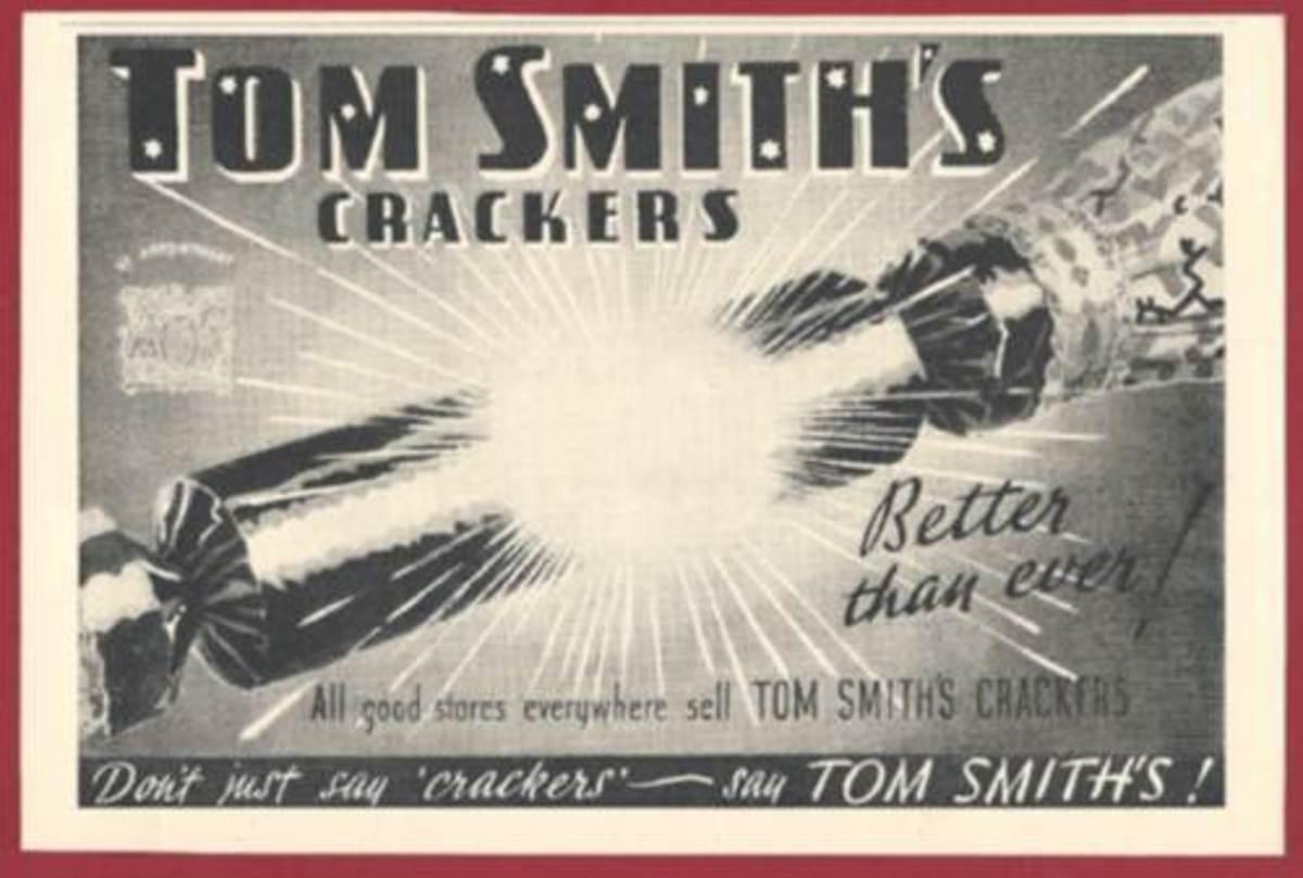 Tom Smith Cracker Advert