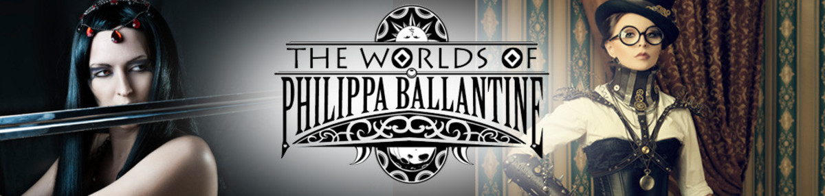 Banner at Philippa Ballantine's website