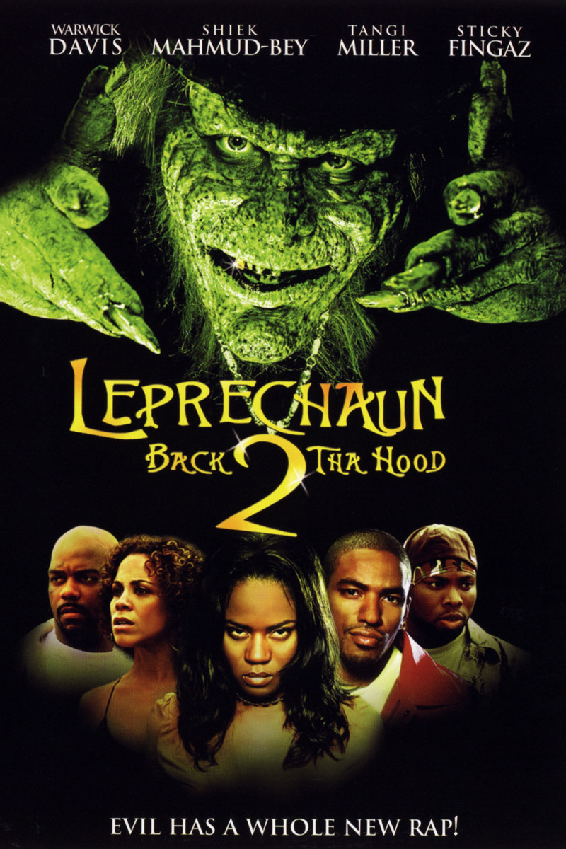 Tangi as the lead in the campy horror Leprachaun franchise.