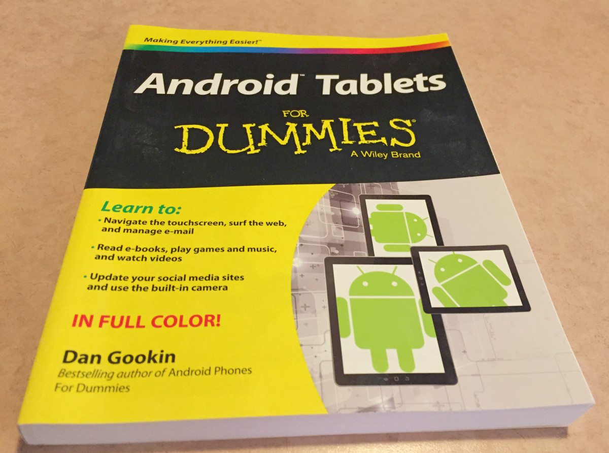 I don't even have an android tablet, so I couldn't use this book.  I sold it for $0.99 and was happy to unload it.