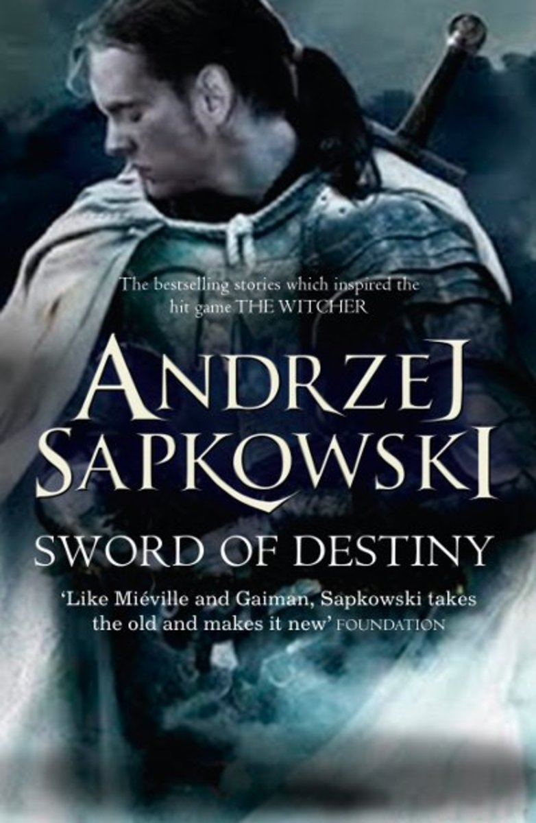 "UK cover of ""The Sword of Destiny"""