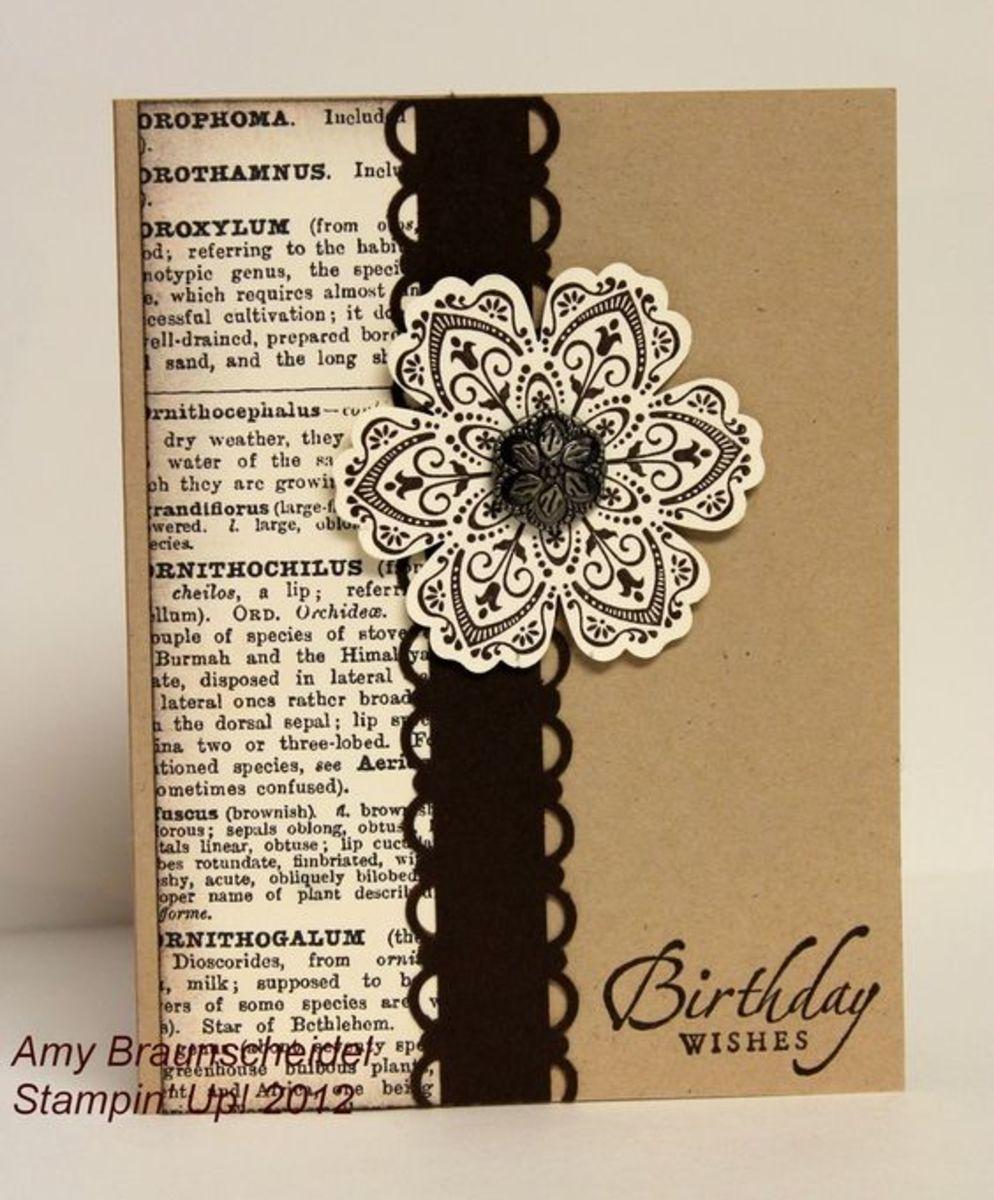 A handmade card by Amy Braunscheidel