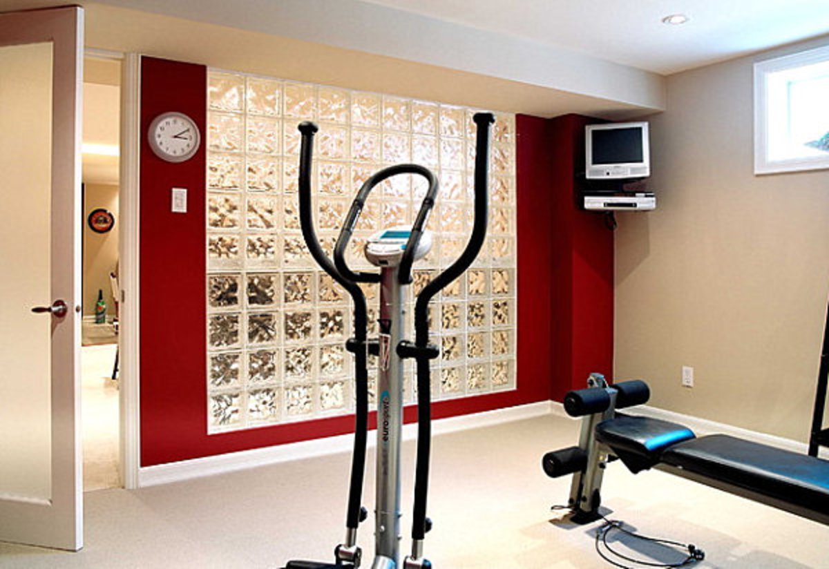Five Fabulous Home Decors - Red Home Gyms