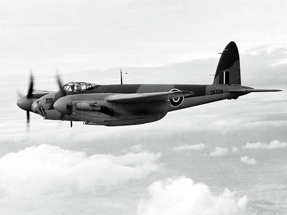 An RAF Mosquito, 1943.