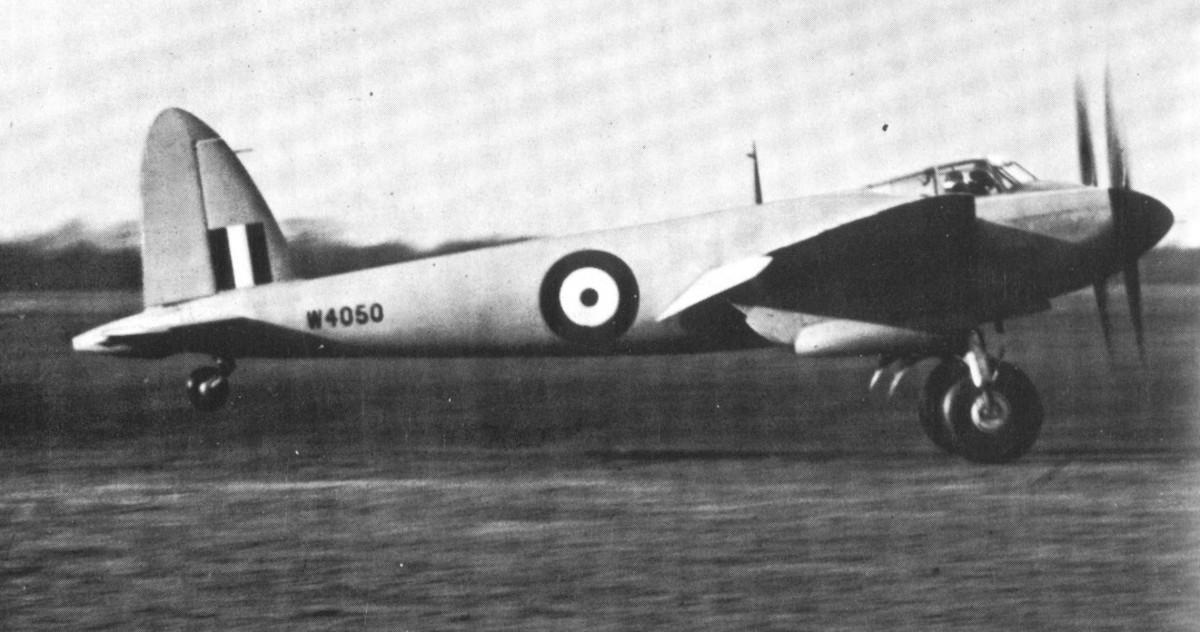 A Mosquito prototype, 1941.