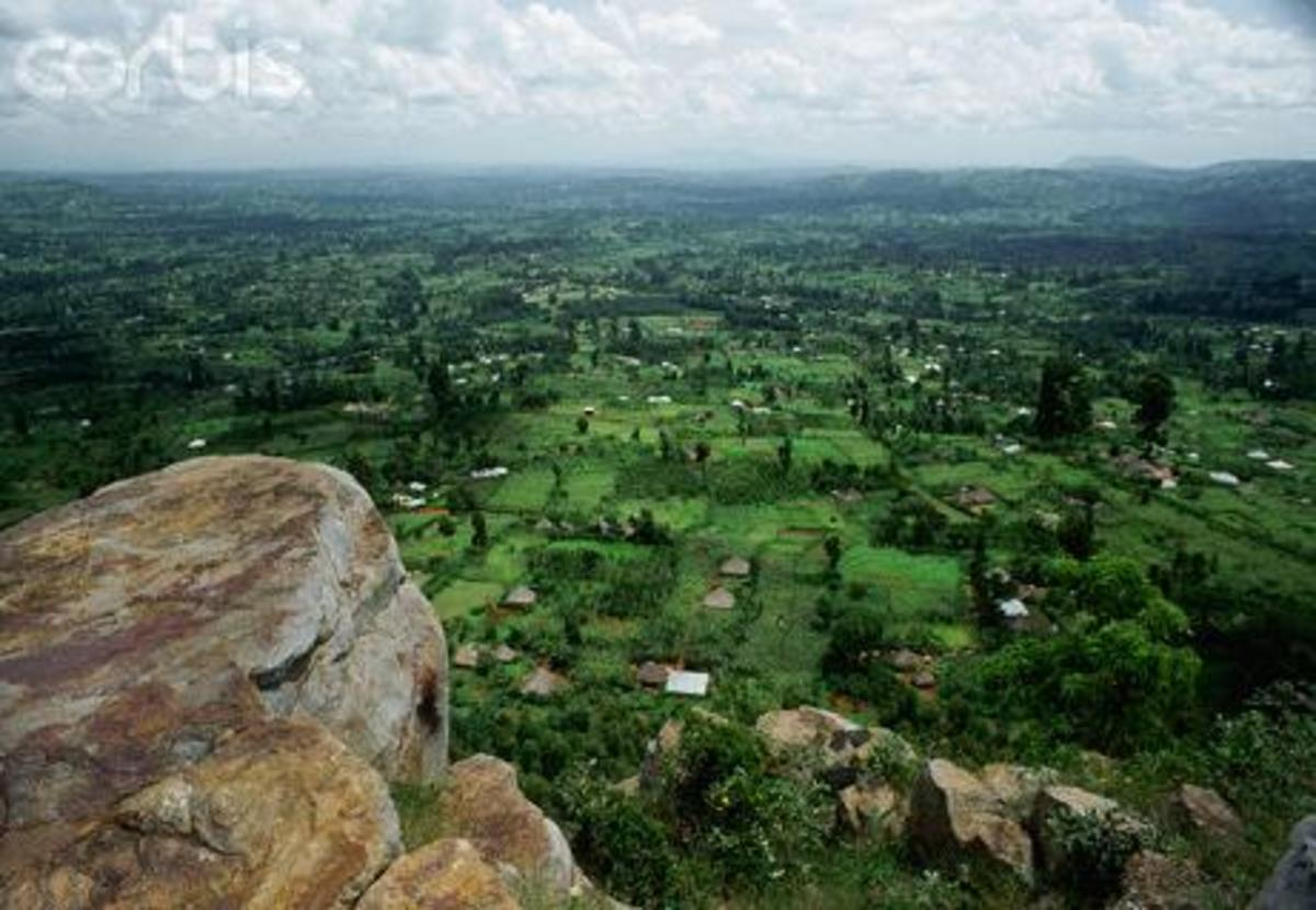 A part of the Gusii land
