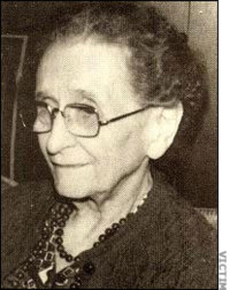 Stocking Strangler victim, Florence Sheible  From The Columbus Ledger-Enquirer Group