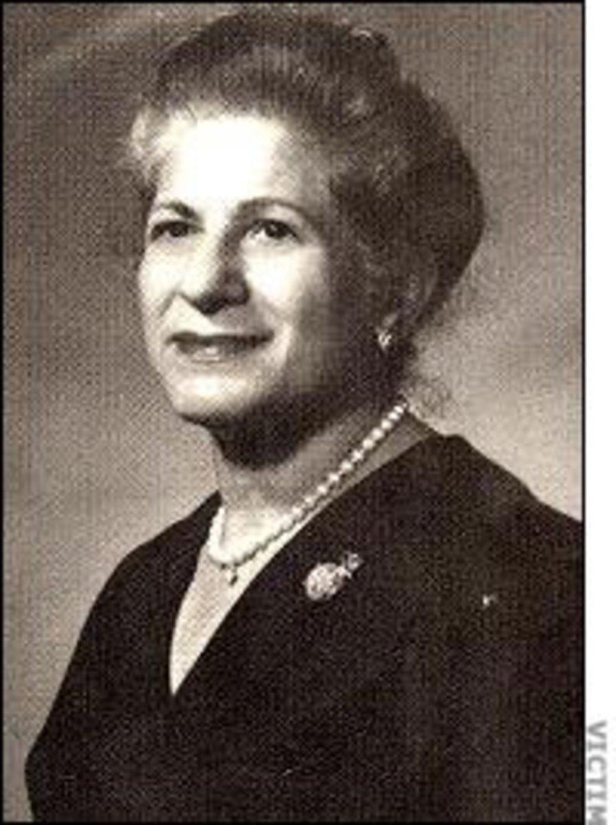 Stocking Strangler victim, Ruth Schwob  From the Columbus Ledger-Enquirer Group