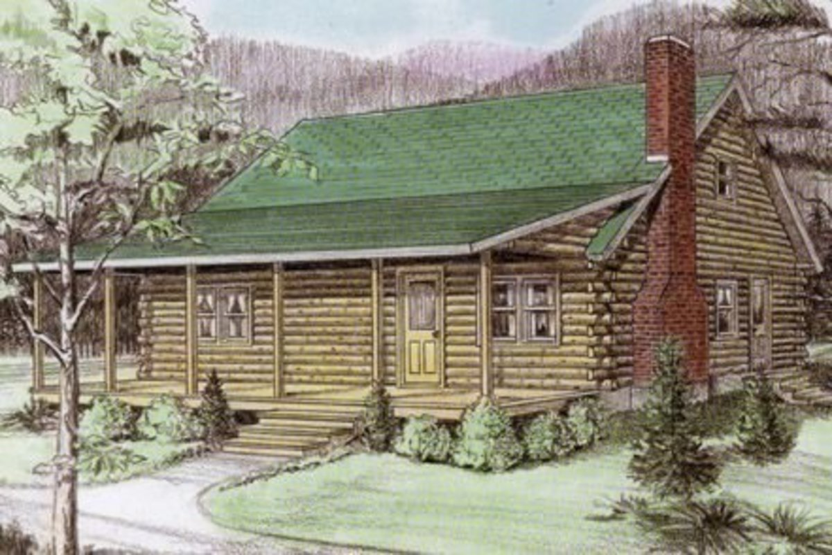 10 log cabin home floor plans 1700 square feet or less for Cost to build 1500 sq ft cabin