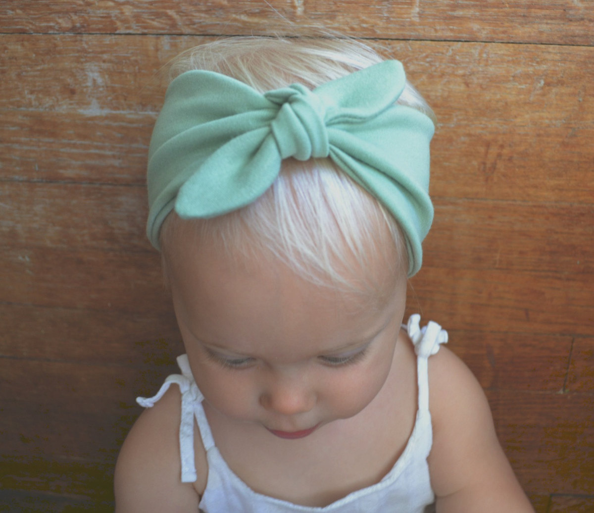 Cute turban cloth headband