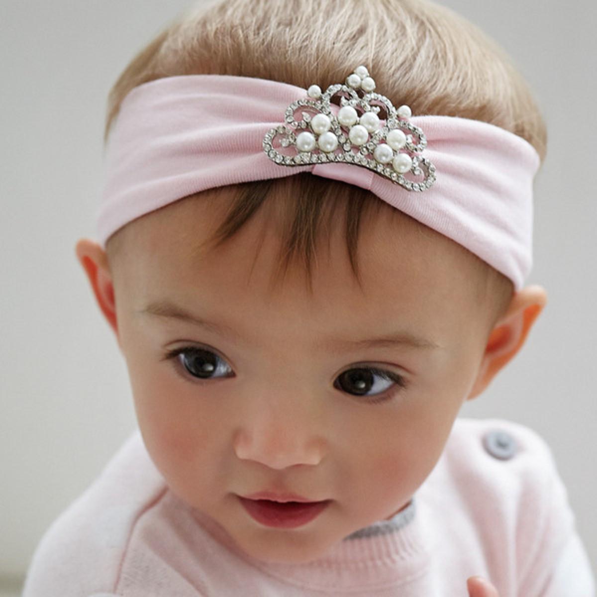 Elegant baby headband