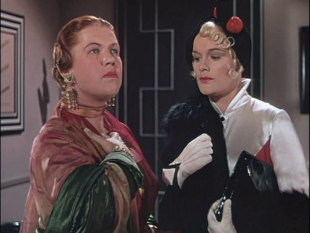 as Phoebe Dinsmore (pictured on the left)