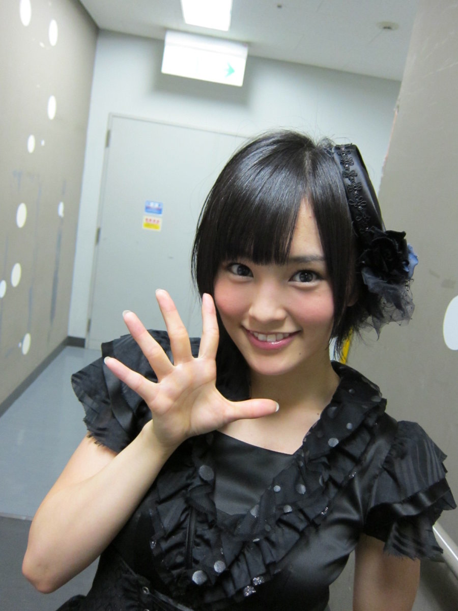 Sayaka Yamamoto of girl group NMB48. She is nicknamed Sayanee and she is one of my favorite members of all time!