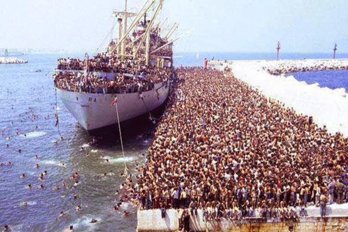 Muslim Exodus and Propaganda to