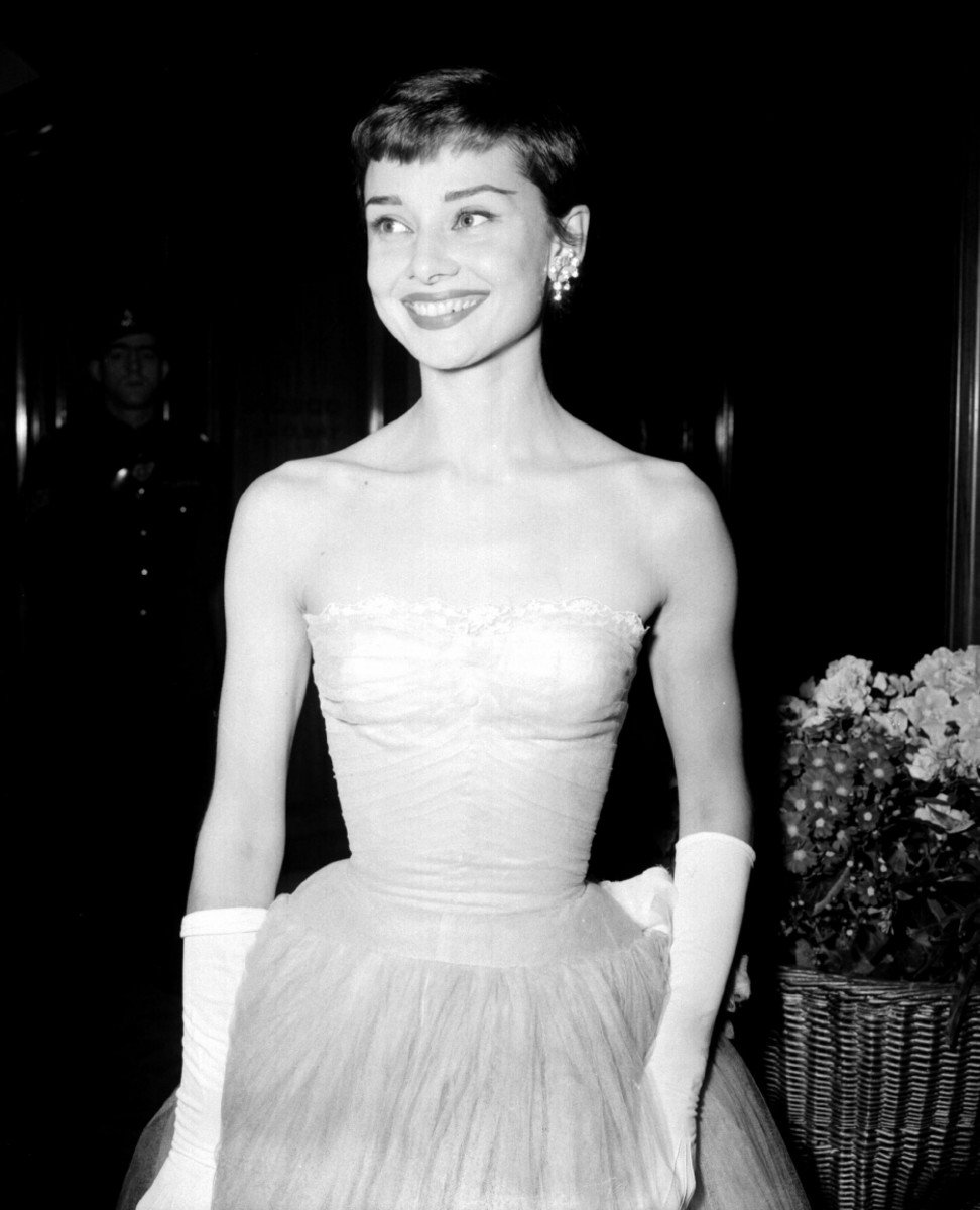 Audrey Hepburn in the 50's