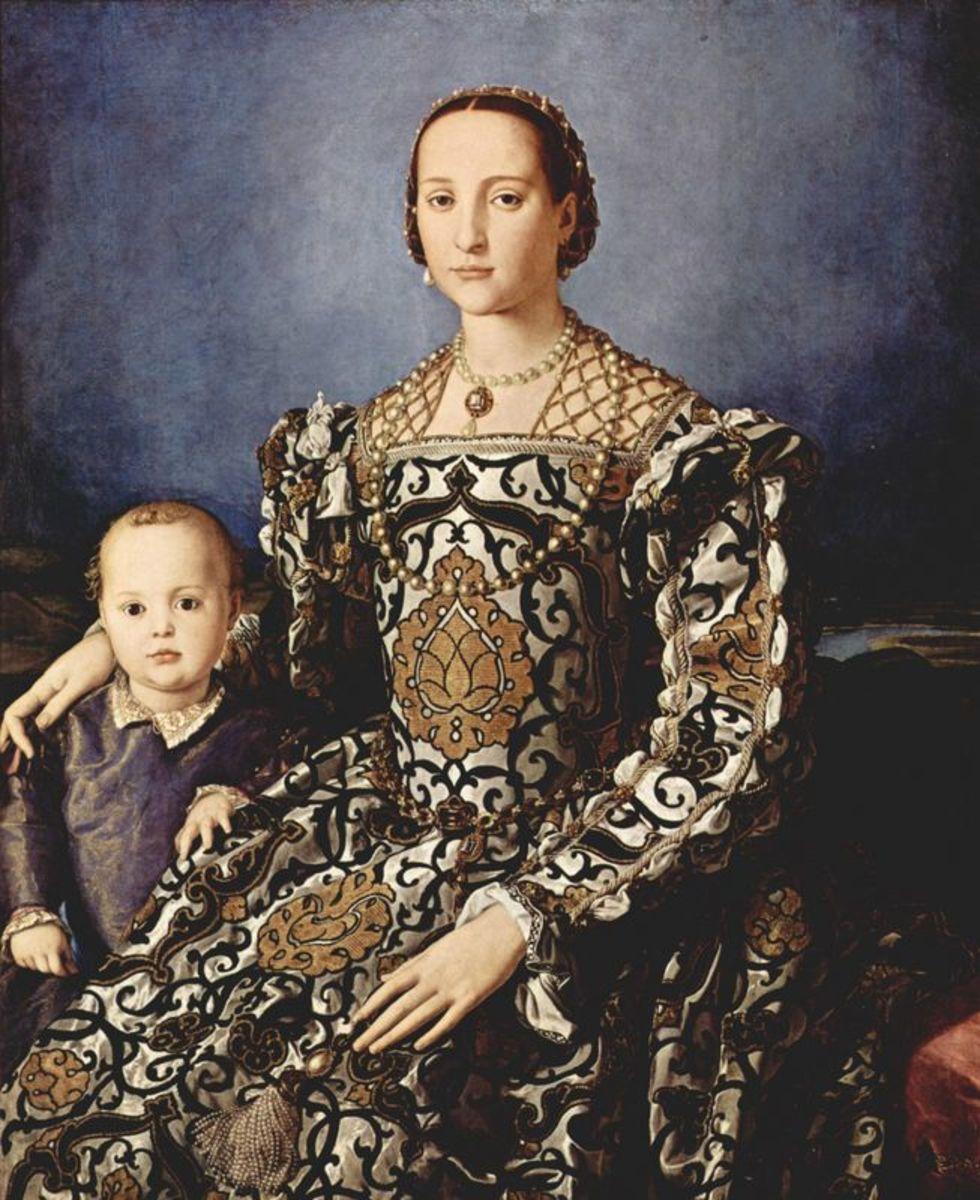 Florence, Italy: Eleonora di Toledo's Iconic Gown