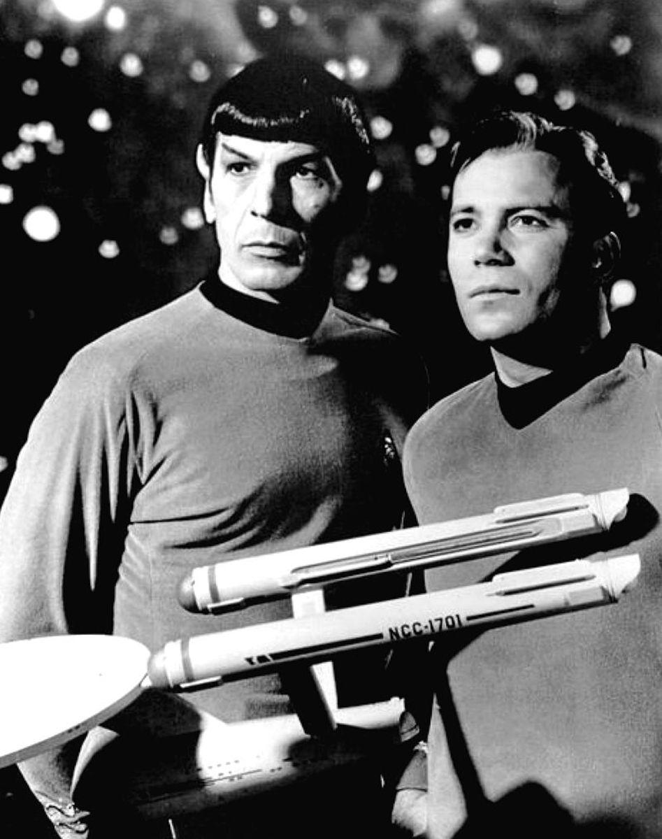 Mr. Spock & Captain Kirk