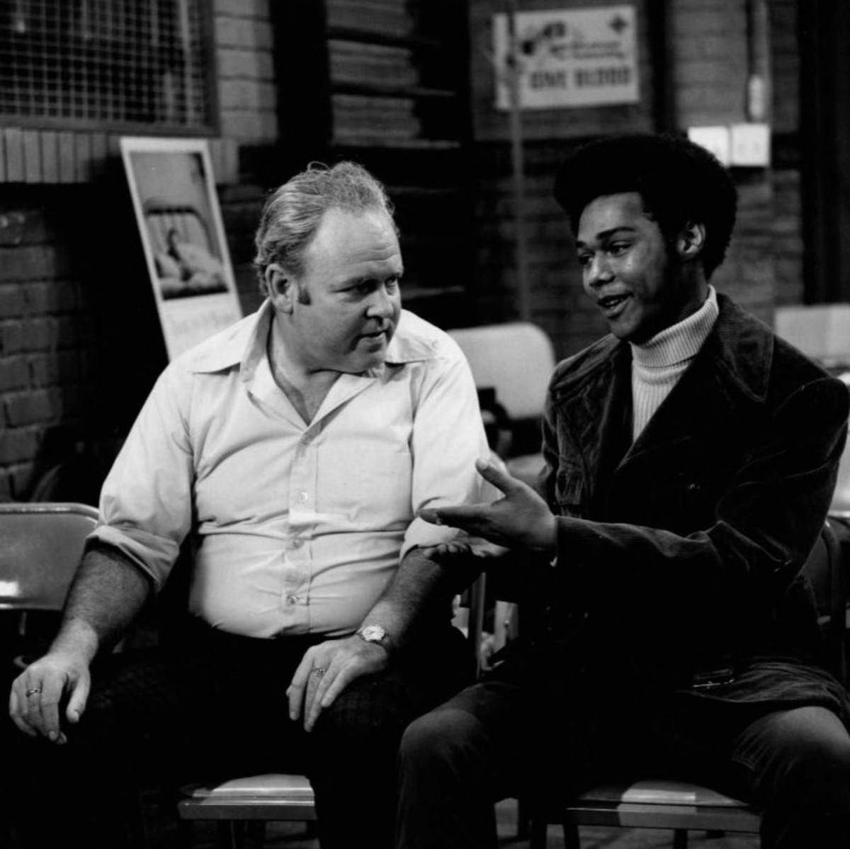 Archie Bunker & Lionel Jefferson