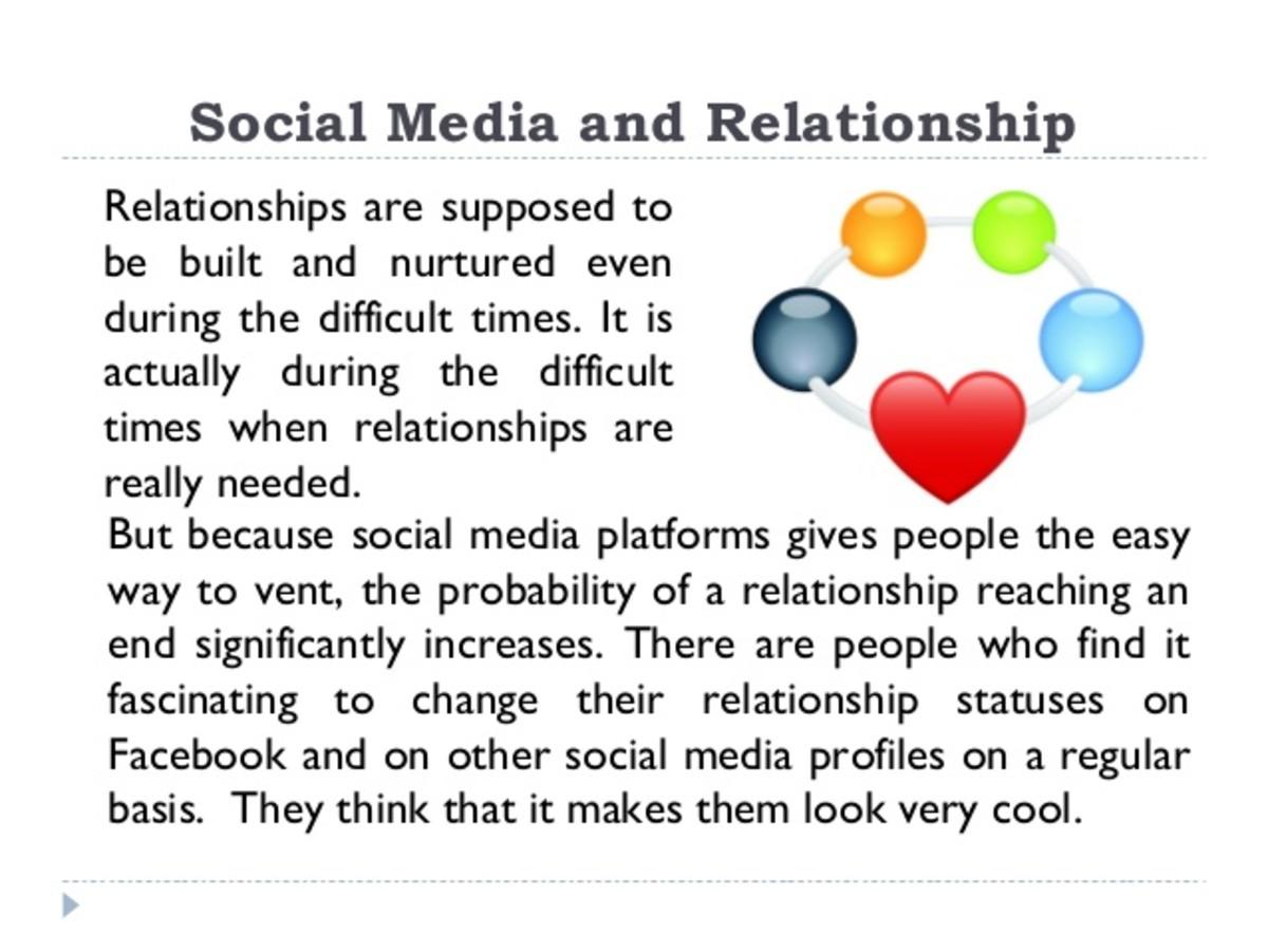 Does social media enhance or hinder interpersonal relationships?