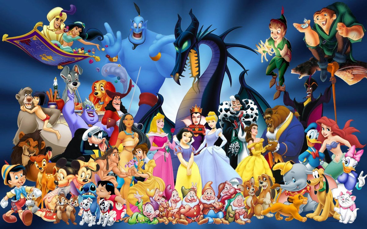 Disney Animation Studios - IMAGE - A few iconic characters from the studios creations.