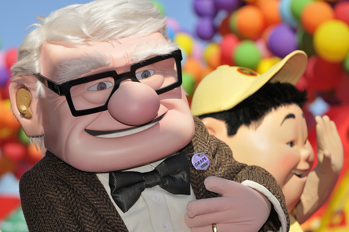 "Pixar Animation - IMAGE - picture shot from Pixar's iconic movie, ""UP""."