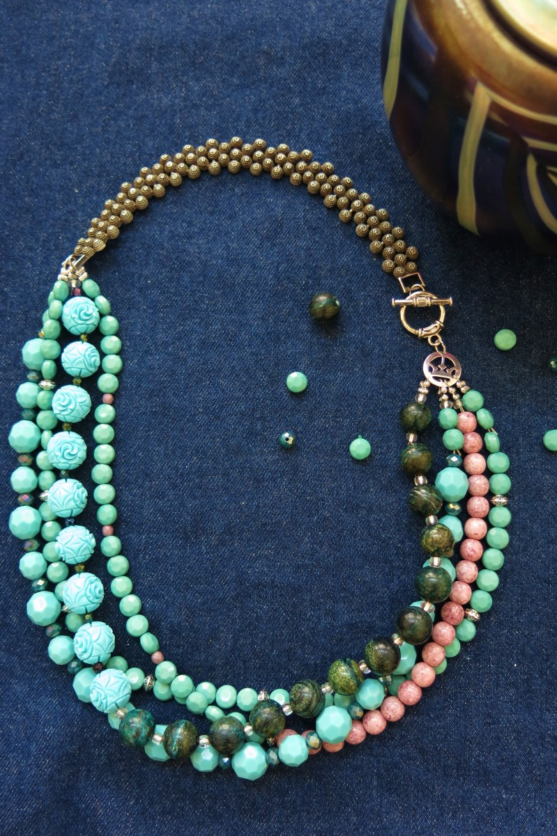 How to Make a Necklace from a Repurposed Bracelet