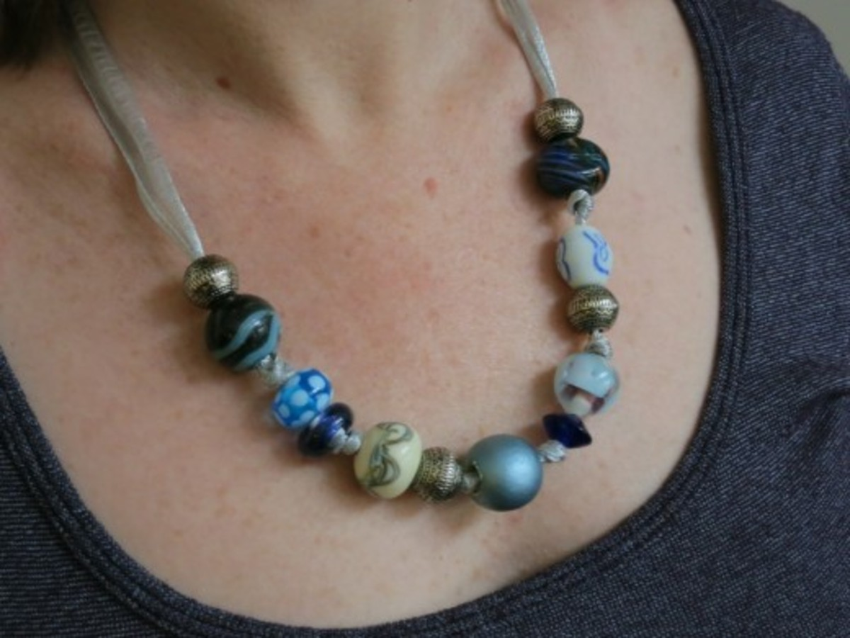 Quick & Easy Beaded Necklace