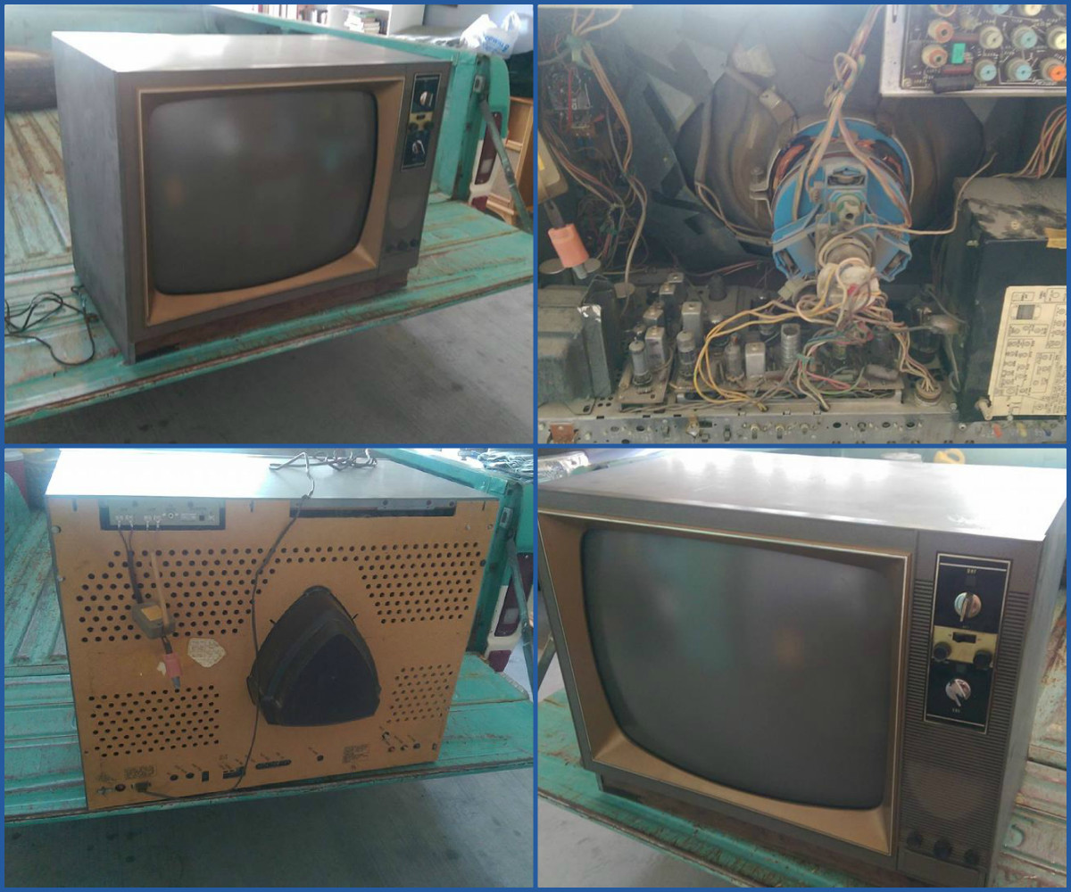 The Exclusive Curtis Mathes Module of 1967 was a total color television system. It is the entire television set, encased in rugged steel. It is inserted on nylon runners into a tremendous assortment of incredibly lovely cabinets.