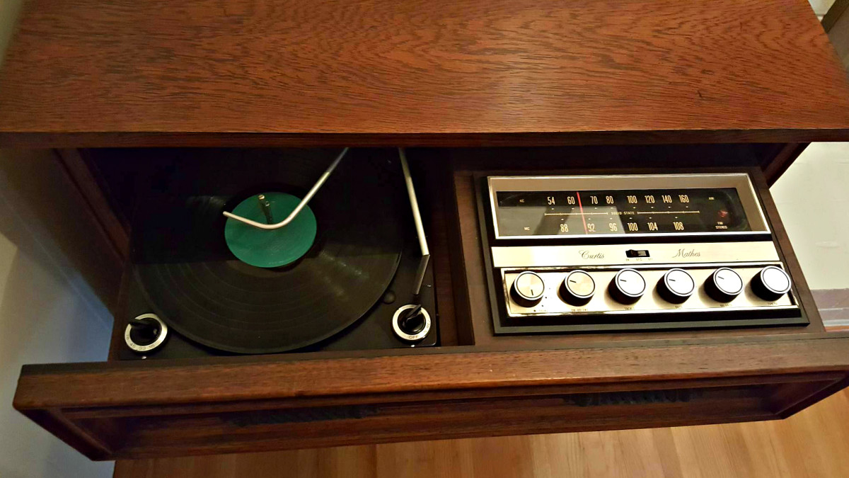 The 1967 Curtis Mathes Products brought the the latest in electronics and the finest in  cabinetry, combined with the craftsmanship of a by-gone era.