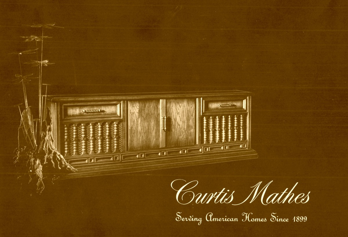 Look at a Curtis Mathes Cabinet in 1967 and you will see the work of the fourth generation furniture makers who still took pride in the craft.