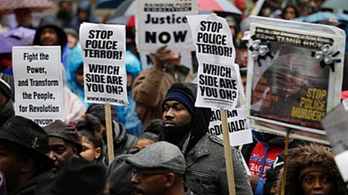 Stopping the violence: replace law enforcement with rights protection