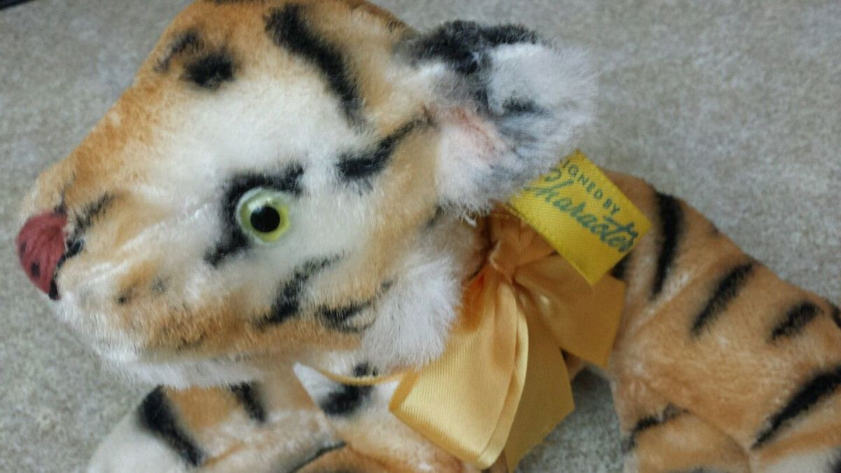 The workmanship in this Bengal tiger is excellent; the detailing in the eyes and hand stitching shows the care that the Character Novelty Company put into their stuffed plush animals.