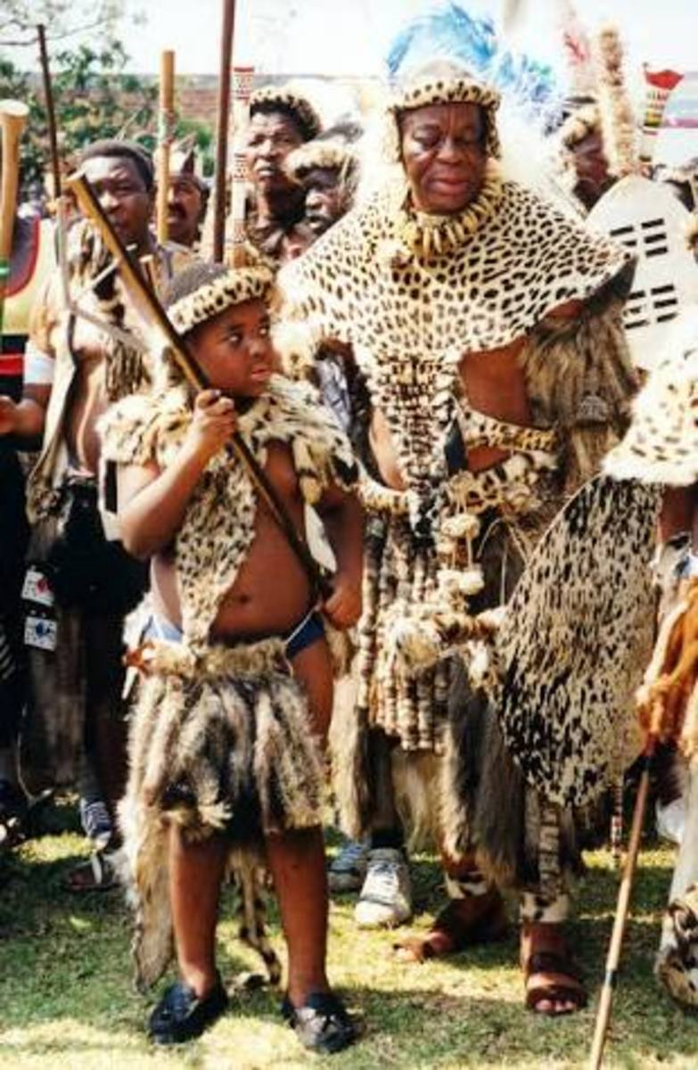 Leopard skins used for traditional garments -  Pinterest