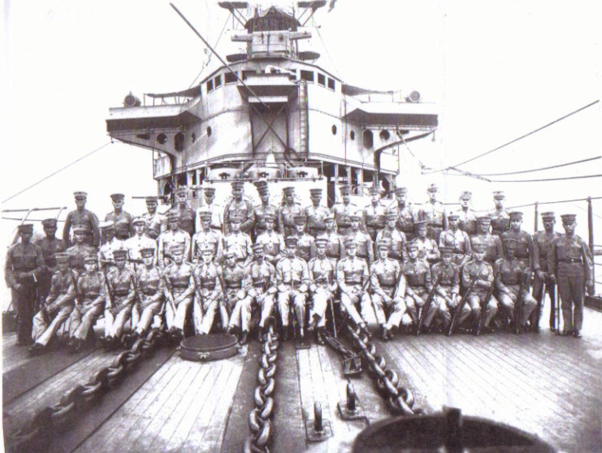 Typical Marine Detachment cerca 1900