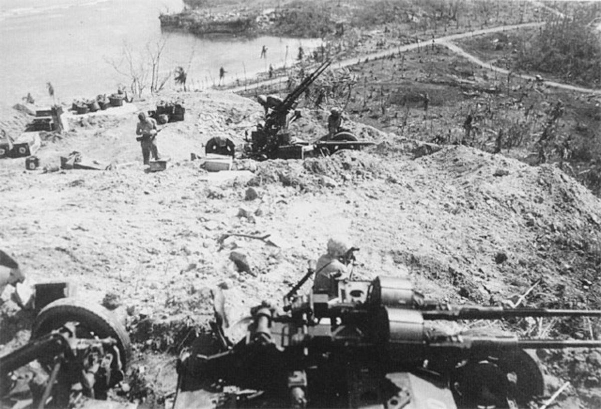 14th Defense Battalion, Guam