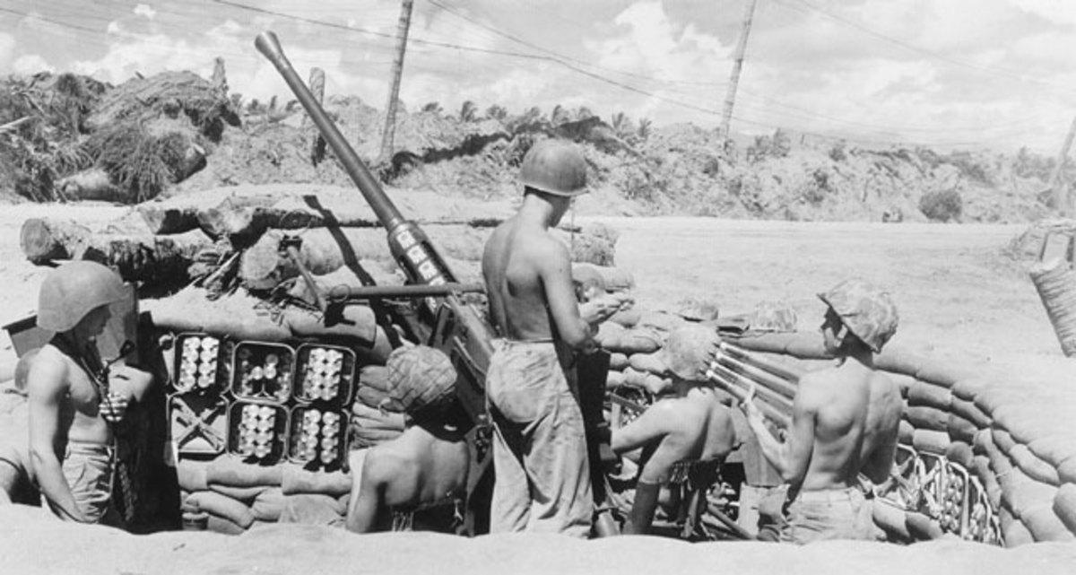 3rd Defense Battalion, Bougainville