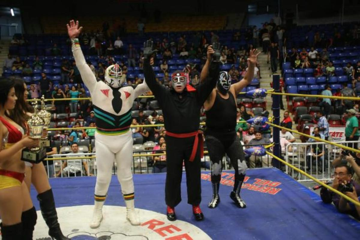 Sagrada and Octagon years after lucha a muerte