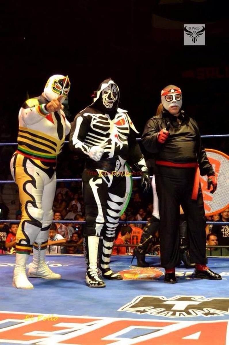 Sagrada, Octagon and La Parka/L.A. Park reunited