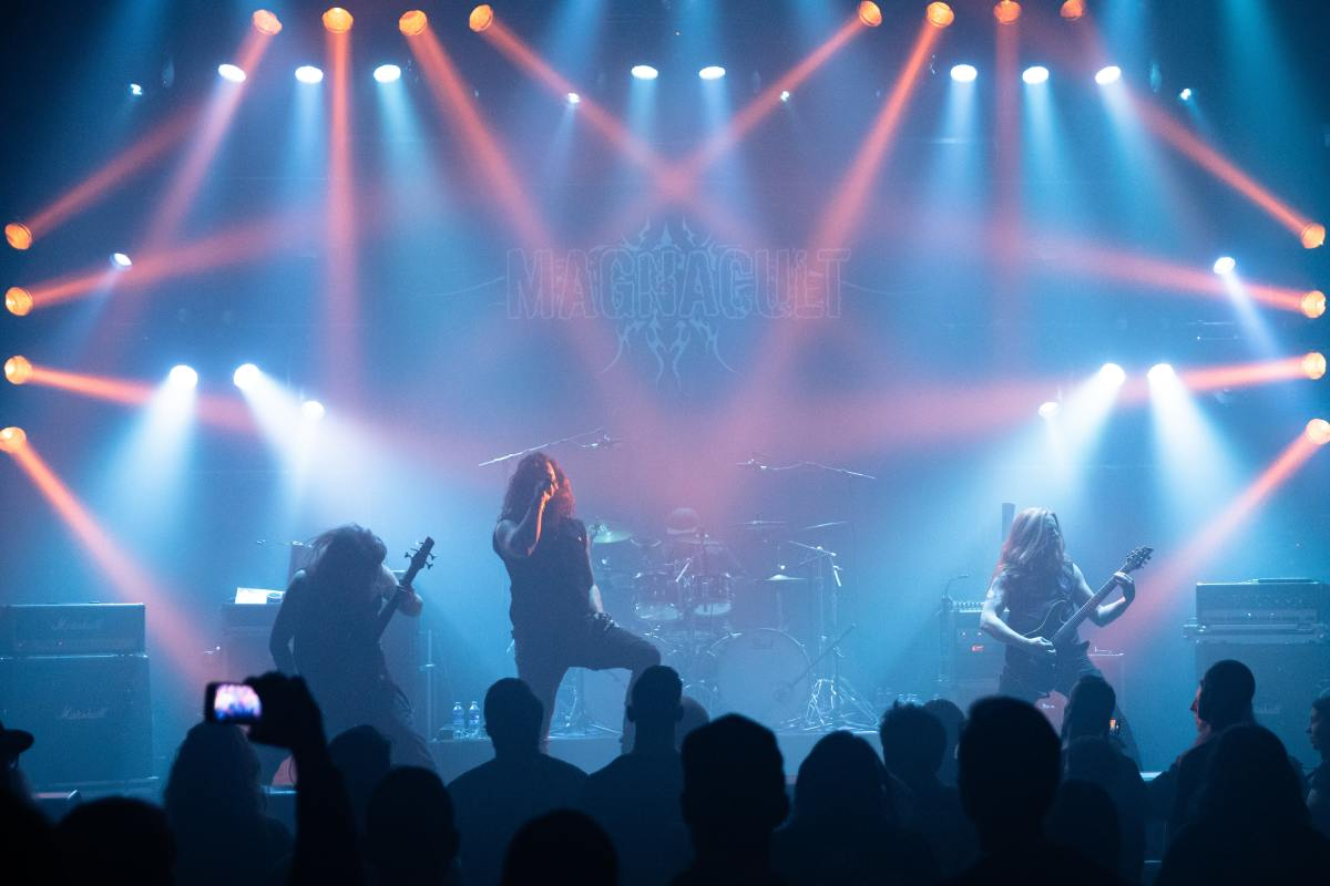 Heavy Metal Bands are known for their exceptional showmanship!