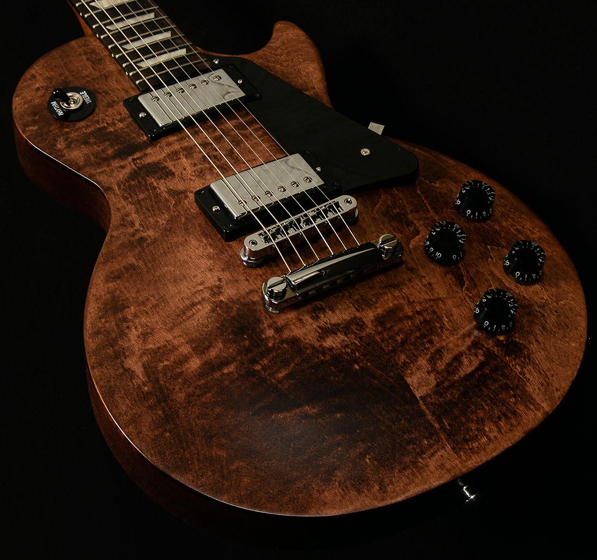 gibson les paul studio electric guitar ebony gold № 277279