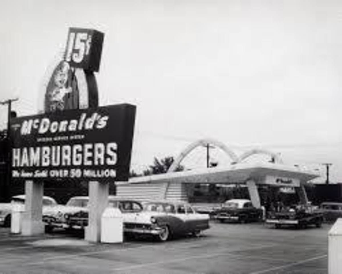 McDonald's On Washington in the old days