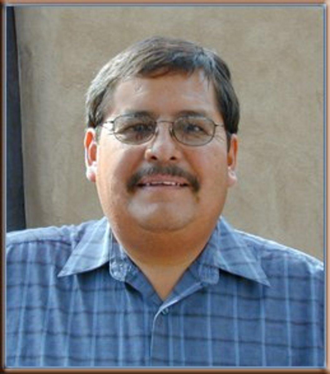Ramon Dalangyawma, Hopi silversmith